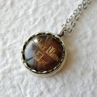Once Upon A Time Storybook Petite Necklace  by TheGreenDaisyShop