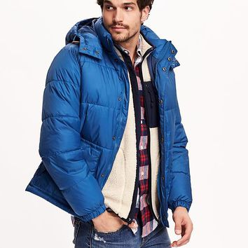 Old Navy Mens Frost Free Detachable Hood Jacket