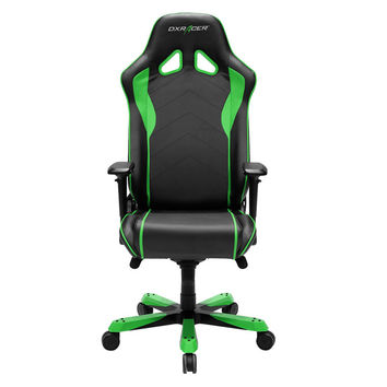 DXRacer SJ08NE Big and Tall Ergonomic Racing Style Gaming Office Chair-Green