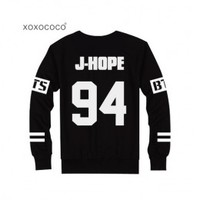 BTS BANGTAN BOYS - Goods : Number Sweater Long Sleeve T-Shirt [AEX]