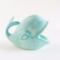 Whale Ring Holder - Mint Ceramics - Ring Dish
