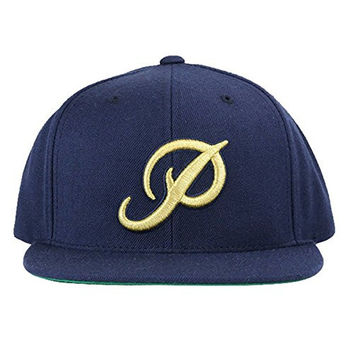 Primitive Classic P Snapback Gold P Navy Size O/S