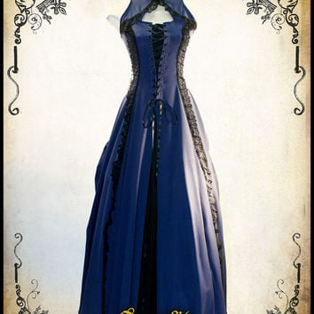 Medieval dress Miss Jasmine lace prom wedding costume