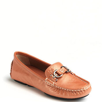 Donald J. Pliner Viky Leather Loafers