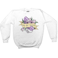 Call Out Sexism -- Women's Sweatshirt