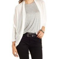 Lightweight Oversized Cocoon Cardigan by Charlotte Russe