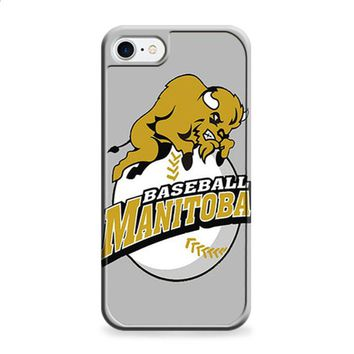MANITOBA BASEBALL LOGO GRAY iPhone 6 | iPhone 6S case