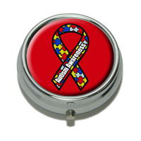 Autism Awareness Pill Box