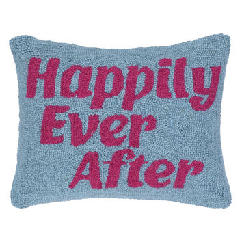 Happily Ever After Hook Pillow