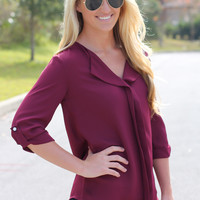 Seriously Chic Blouse