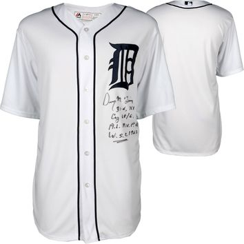 Denny McLain Signed Autographed Detroit Tigers Baseball Jersey (MLB Authenticated)