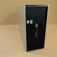 HP Compaq Desktop Computer 2.13GHz And 1.57GHz Hard Drive 80GB Microtower DC5700 -- Used