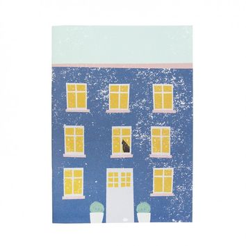 Blue House A5 Notebook