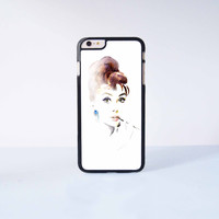 """Audrey Hepburn Plastic Phone Case For iPhone iPhone 6 Plus (5.5"""") More Case Style Can Be Selected"""