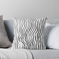 'Minimalist movement' Throw Pillow by DuckyB