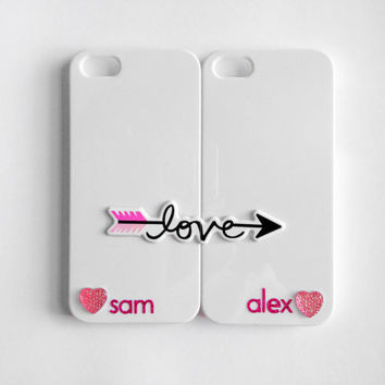Love's Arrow Customized iPhone 4/4S Case Set