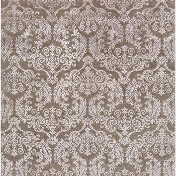 Surya Etienne Medallions and Damask Brown ETI-9006 Area Rug