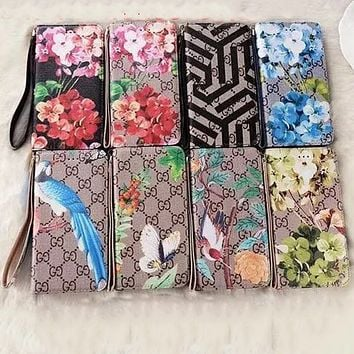 GUCCI ZIPPER FLORAL iPhone CASE  W-AL-BSYHD