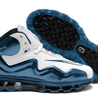 Mens Nike Air Max Flyposite White/White/Game Royal Blue Shoes
