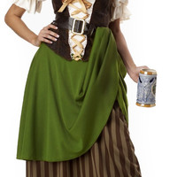 Tavern Maiden Adult Costume | (Large)