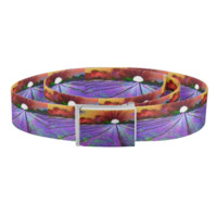 Lavender Field at Sunset painting Belt