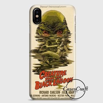 Creature From The Black Lagoon Poster iPhone X Case | casescraft