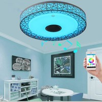 Modern Ceiling Mood Lights And Audio Player