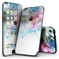 Neon Multi-Colored Paint in Water - 4-Piece Skin Kit for the iPhone 7 or 7 Plus