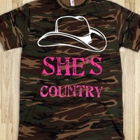 She's Country Camo Tee - She's Country