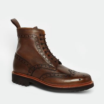 Grenson Fred Commando Brogue Boots