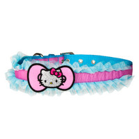 HELLO KITTY® Ruffle Tule Dog Collar