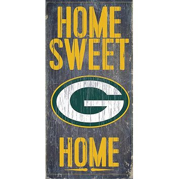 Green Bay Packers Home Sweet Home Premium Wood Sign