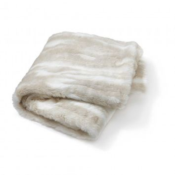 C. Wonder | Faux Fur Throw