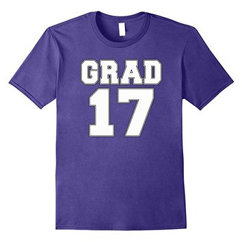 GRAD 17 2017 Graduation T-shirt by Scarebaby