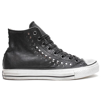 Converse by John Varvatos - Chuck Taylor All Star High Studded (Black/Gunmetal)