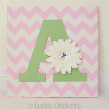 Nursery Wall Letters, Baby Name Letters, Name Wall Art, Nursery Name Decor, Childs Name Wall, Girl Nursery Wall, Monogram Wall Letter