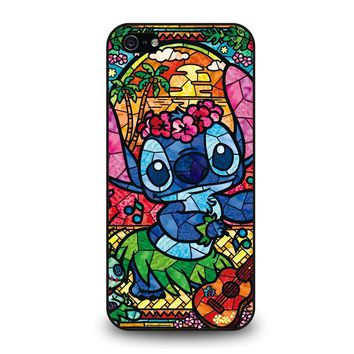 LILO & STITCH STAINED GLASS iPhone 5 / 5S / SE Case