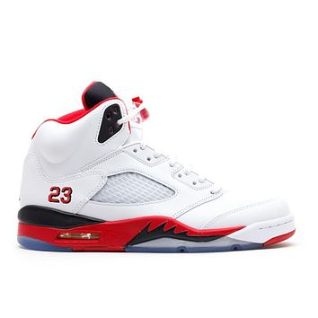 "Air Jordan 5 ""Fire Red 2013 Release"""
