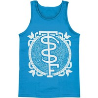 Story So Far Men's  Snake Mens Tank Blue Rockabilia