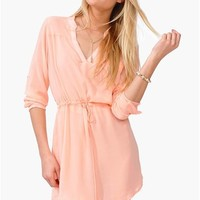 Allie Tunic Dress - Melon