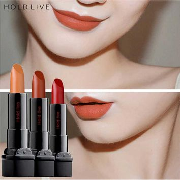 HOLD LIVE 20 Color Matte Lipstick Long Lasting Waterproof Red Lips Makeup Nude Lip Stick Brand Make Up Korean Cosmetics Red Lips