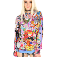 90'S CARTOONS SWEATER