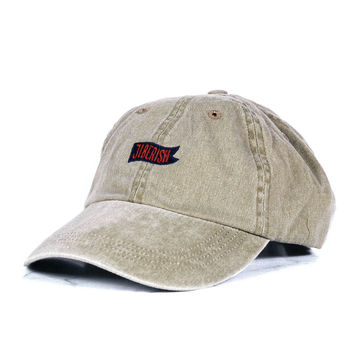 Pennant Unstructured 6 Panel Tan