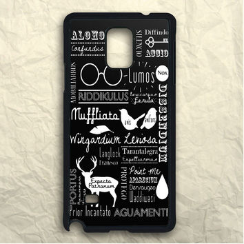 Harry Potter Spell Samsung Galaxy Note 3 Case