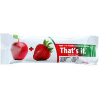 That's It Fruit Bar - Apple And Strawberry - Case Of 12 - 1.2 Oz