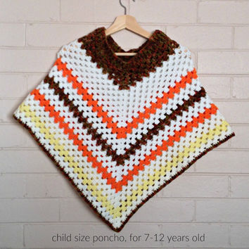 crochet ponchos, kids ponchos, girls poncho, knitted ponchos, kid's clothing, crochet top, kidswear, childrens clothes, knit mexican ponchos