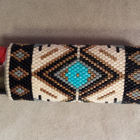 Native Style Beaded lighter cover 2
