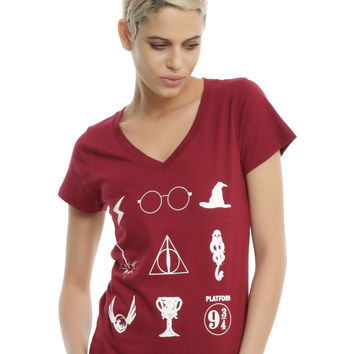 Harry Potter Symbols Girls Tee