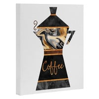 Elisabeth Fredriksson Coffee Maker Art Canvas