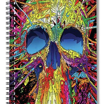 Sugar Skull - Spiral Notebook